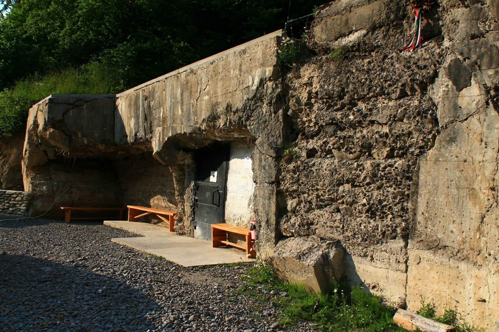 Az Árpád-vonal maradványai Kárpátalján