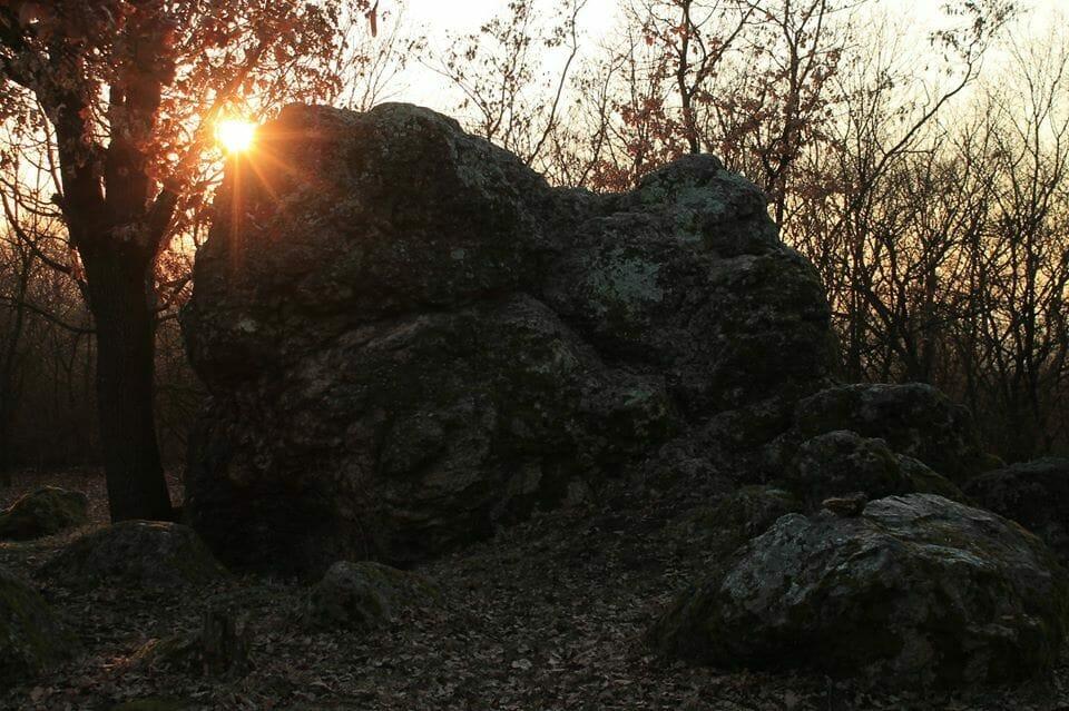 A Bába-kő, ahol a boszorkányokat égették