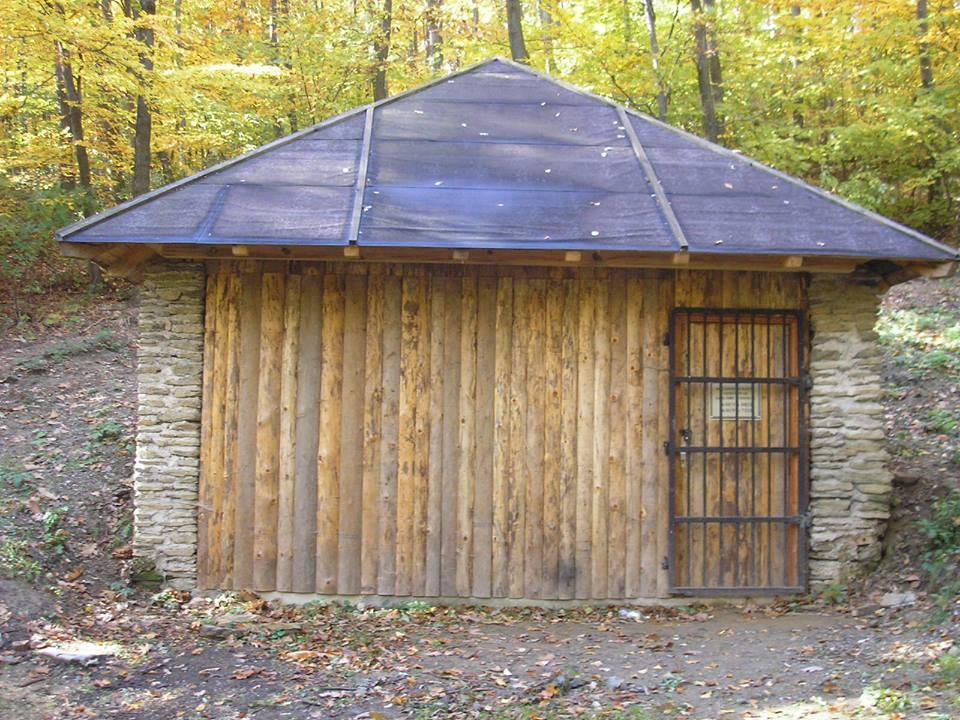 A nácik bunkere a Kőszegi-hegységben