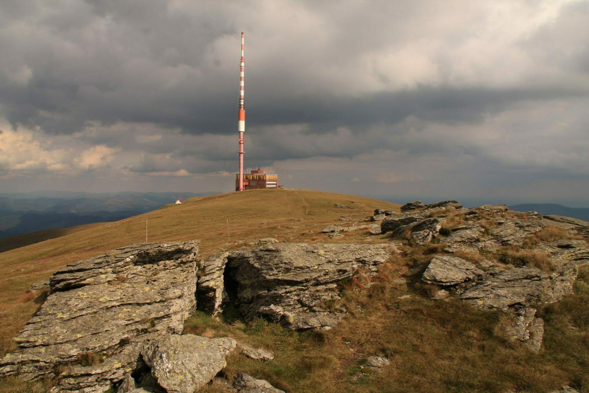 Az Alacsony-Tátra keleti őre, a Király-hegy