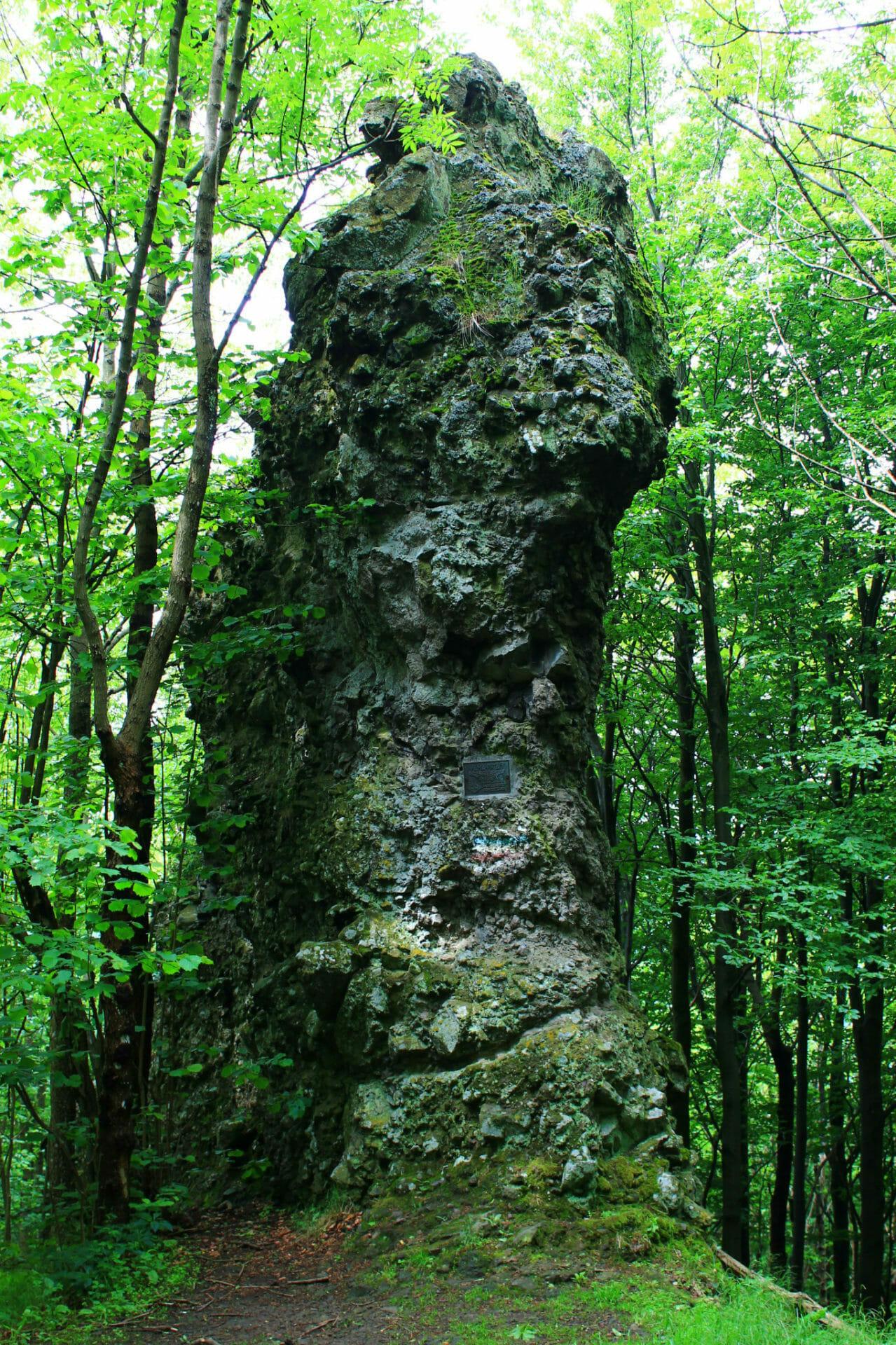 A börzsönyi Korona-kő földtani üzenete