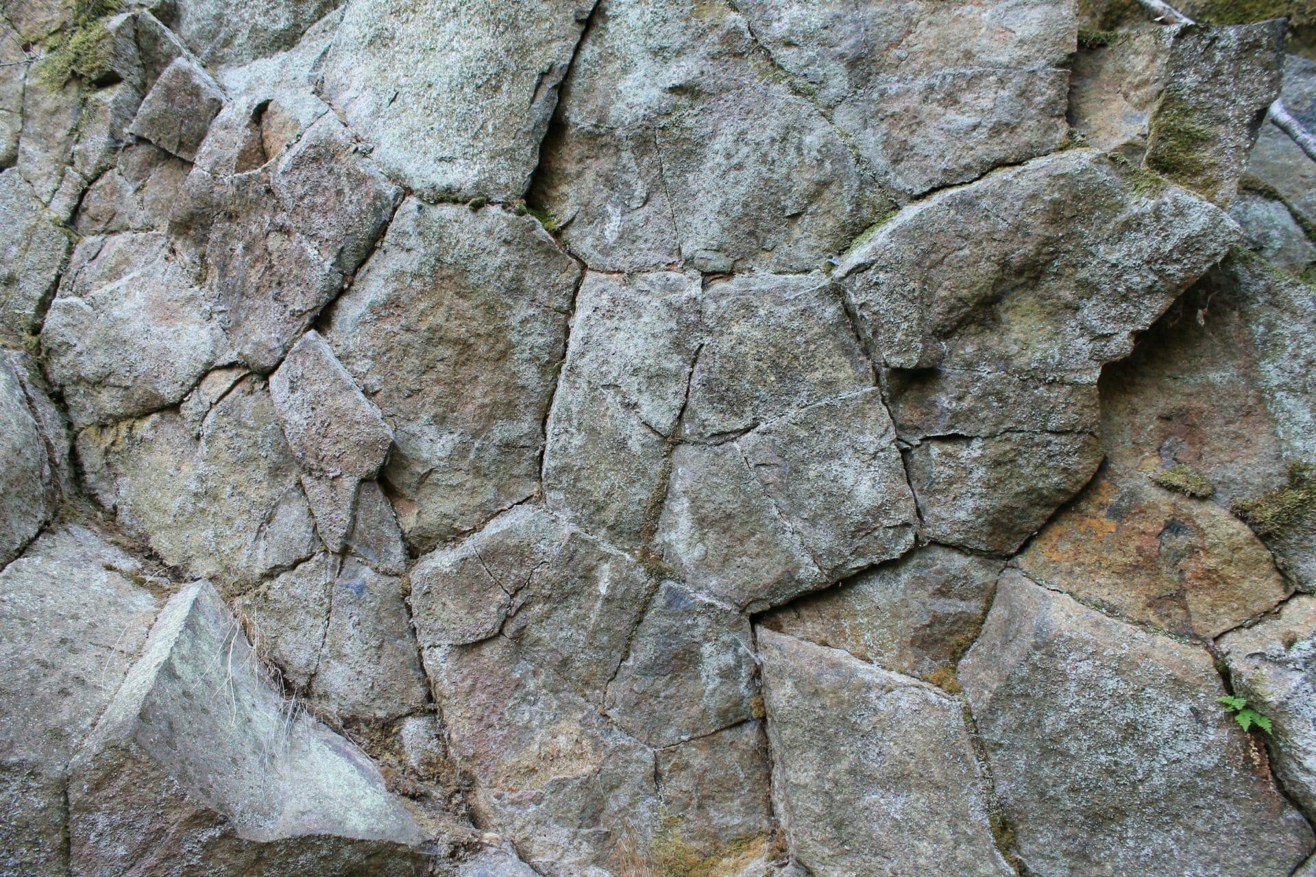 Mintázatok a geológiában I. (andezit)