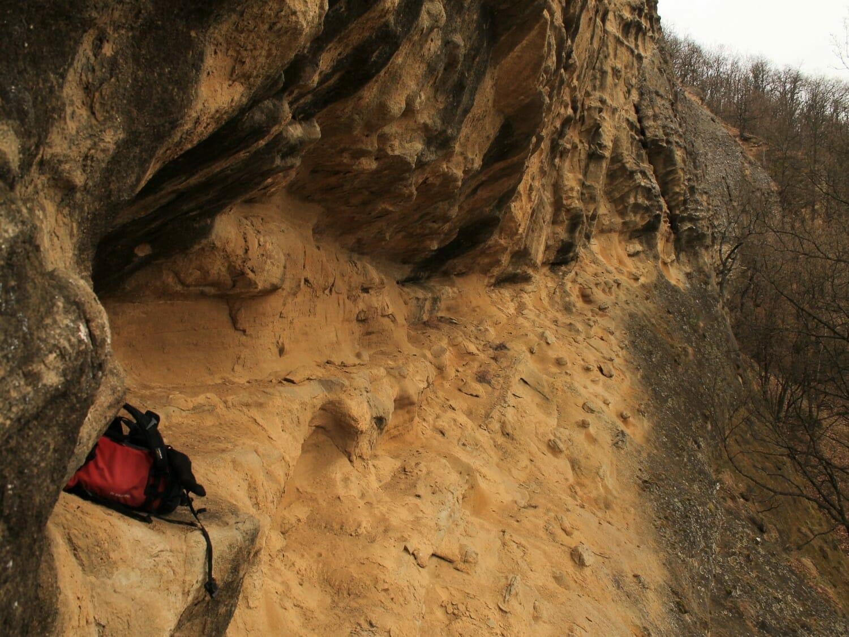 Az Ordas-kő homokkövei